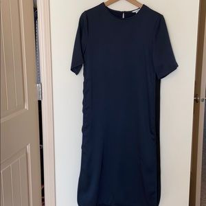 H&M Navy Long Dress
